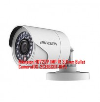 Hikvision HD720P 1MP IR 3.6mm Bullet Camera(DS-2CE16C0T-IRP)