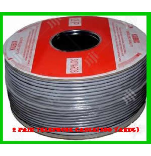 2 Pair Telephone Cable(300 Yards)