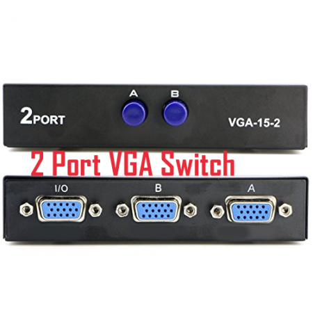 2 Port VGA Switch