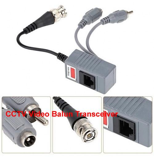 CCTV Video Balun Transceiver