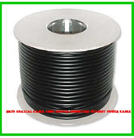 Rg59 Coaxial Cable 100% Copper-300meters-Without Power Cable
