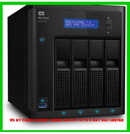 WD My Cloud Expert Series EX4100 32TB 4-Bay NAS Server
