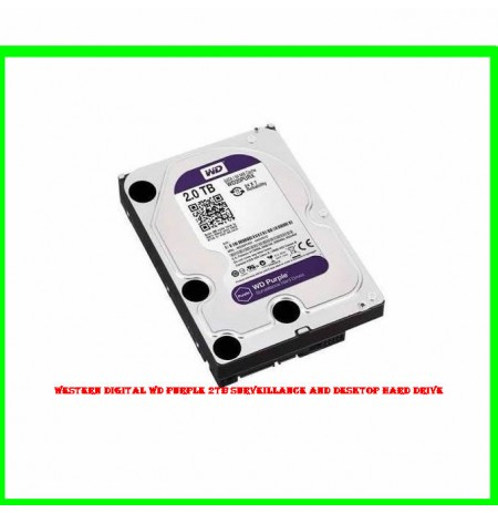 Western Digital WD Purple 2TB Surveillance and Desktop Hard Drive