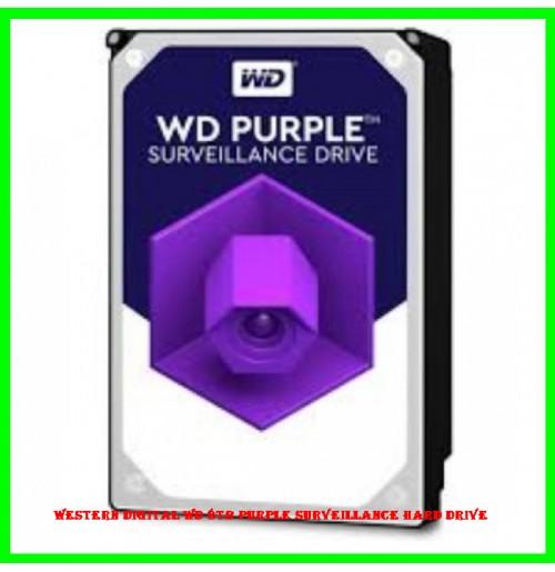 Western Digital WD 8TB Purple Surveillance Hard Drive