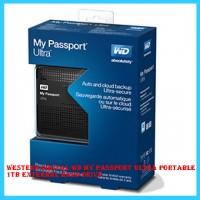 Western Digital-WD My Passport Ultra Portable 1TB External Hard Drive