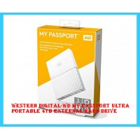 Western Digital-WD My Passport Ultra Portable 4TB External Hard Drive