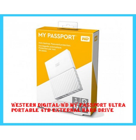 Western Digital-WD My Passport Ultra Portable 4TB External Hard Drive