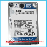 Western Digital-WD Scorpio Blue 320GB Laptop SATA Hard Drive