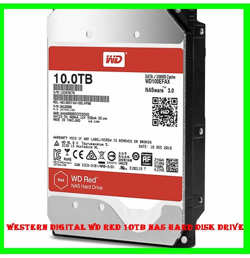 Western Digital WD Red 10TB NAS Hard Disk Drive