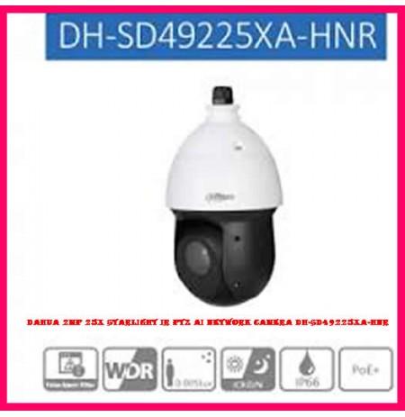 Dahua 2MP 25x Starlight IR PTZ AI Network Camera DH-SD49225XA-HNR