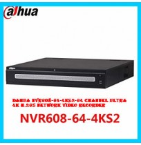 DAHUA NVR608-64-4KS2-64 Channel Ultra 4K H.265 Network Video Recorder