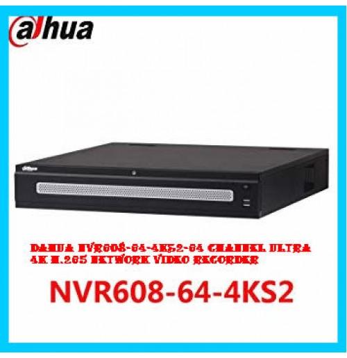 DAHUA NVR608-64-4KS2-64 Channel Ultra 4K H.265 Network Video Recorder