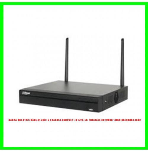 Dahua DHI-NVR2104HS-W-4KS2 4 Channel Compact 1U Lite 4K  Wireless Network Video Recorder-IMOU