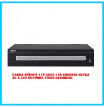 Dahua NVR608-128-4KS2-128 Channel Ultra 4K H.265 Network Video Recorder