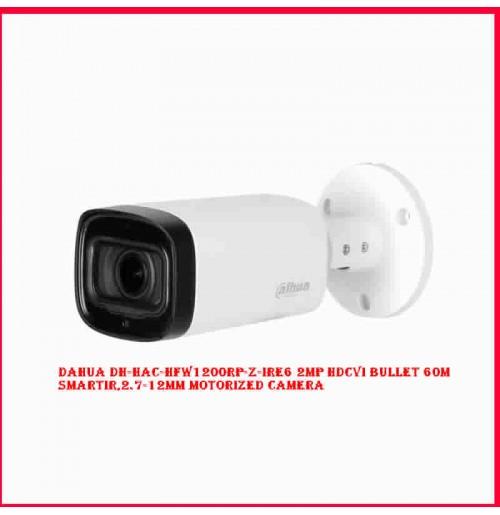 Dahua DH-HAC-HFW1200RP-Z-IRE6 2MP HDCVI Bullet 60m SmartIR,2.7-12mm Motorized Camera