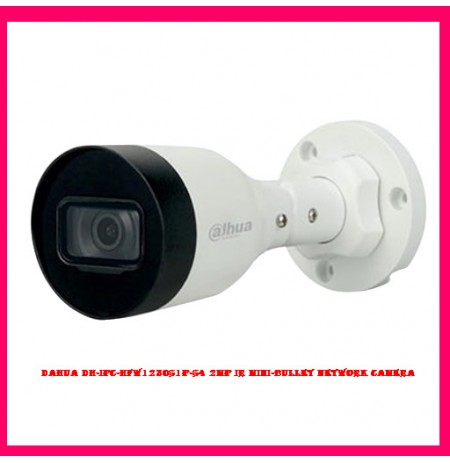 Dahua DH-IPC-HFW1230S1P-S4 2MP IR Mini-Bullet Network Camera