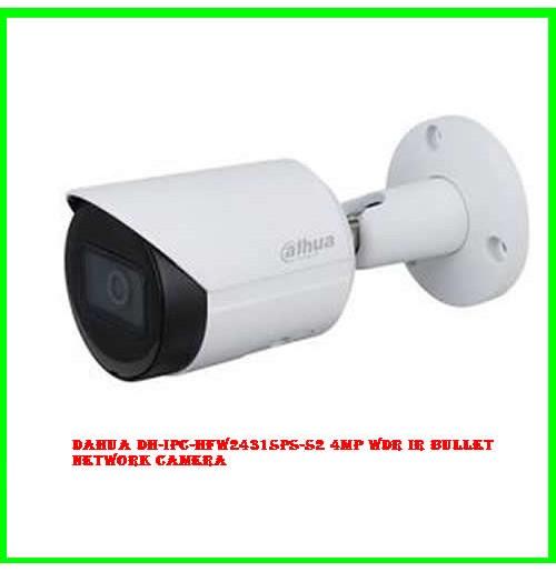 Dahua DH-IPC-HFW2431SPS-S2 4MP WDR IR Bullet Network Camera