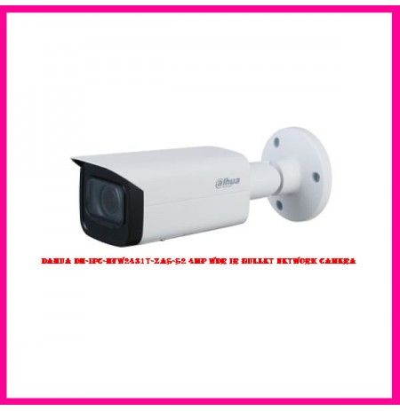 Dahua DH-IPC-HFW2431T-ZAS-S2 4MP WDR IR Bullet Network Camera