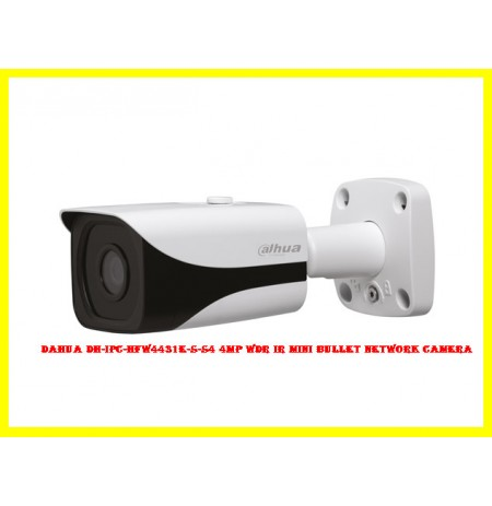 Dahua DH-IPC-HFW4431E-S-S4 4MP WDR IR Mini Bullet Network Camera