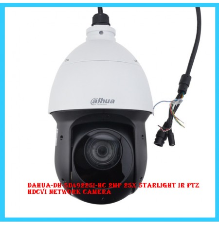 Dahua-DH-SD49225I-HC 2MP 25x Starlight IR PTZ HDCVI Network Camera