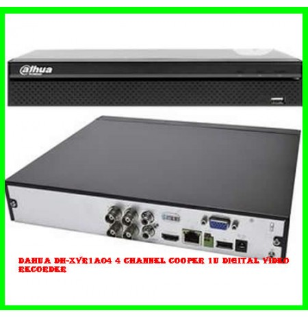 Dahua DH-XVR1A04 4 Channel Cooper 1U Digital Video Recorder