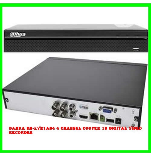 Dahua DH-XVR1A04 4 Channel Cooper 1U Digital Video Recorder