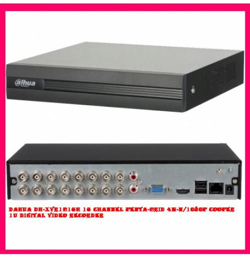 Dahua DH-XVR1B16H 16 Channel Penta-brid 4M-N/1080P Cooper 1U Digital Video Recorder