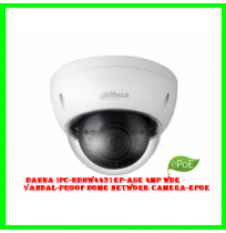 Dahua IPC-HDBW4431EP-ASE 4MP WDR Vandal-proof Dome Network Camera-ePoE