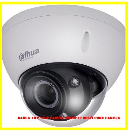Dahua 1MP 720P Vandal-proof IR HDCVI Dome Camera
