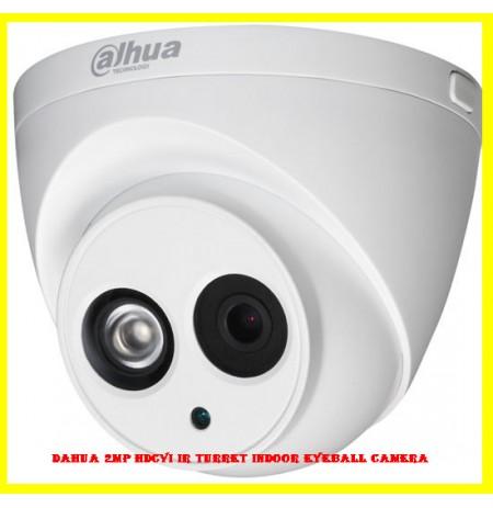 Dahua 2MP HDCVI IR Turret Indoor Eyeball Camera