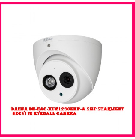 Dahua DH-HAC-HDW1230EMP-A 2MP Starlight HDCVI IR Eyeball Camera