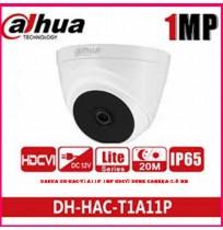 Dahua DH-HAC-T1A11P 1MP HDCVI Dome Camera-2.8 mm