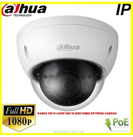 Dahua IPC-D1A20P 2MP IR Mini-Dome Network Camera