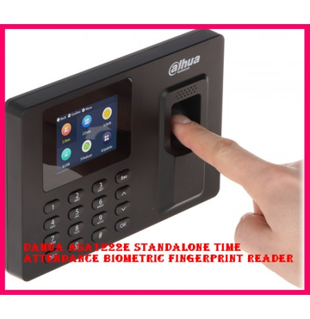 Dahua ASA1222E Standalone Time Attendance Biometric Fingerprint Reader