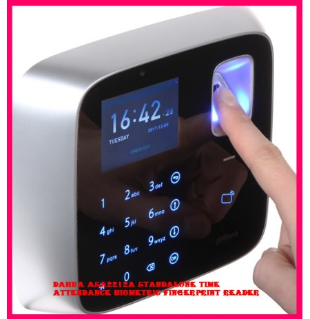 Dahua ASA2212A Standalone Time Attendance Biometric Fingerprint Reader