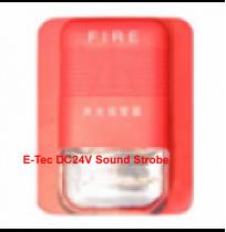 E-Tec DC24V Sound Strobe