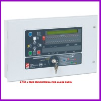 C-TEC 4 Zone Conventional Fire Alarm Panel