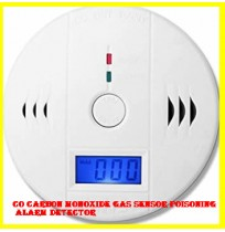CO Carbon Monoxide Gas Sensor Poisoning Alarm Detector