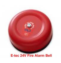 E-tec 24V Fire Alarm Bell