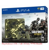 PlayStation 4 1TB - Call Of Duty WWII Bundle