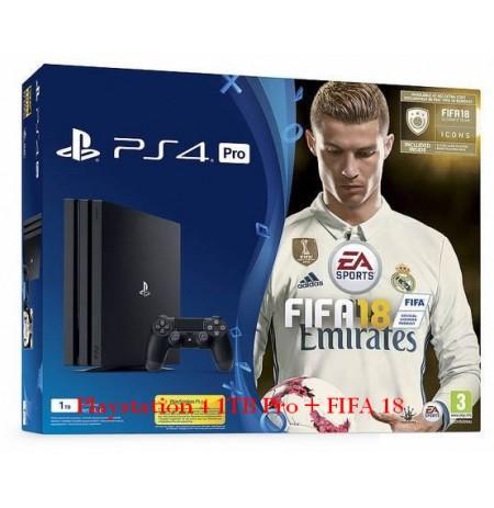 Playstation 4 1TB Pro + FIFA 18
