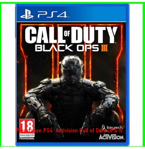 Playstation PS4  Activision Call of Duty OPS III