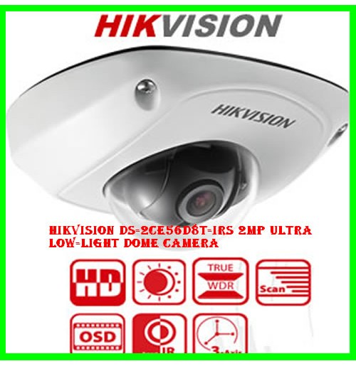 HIKVISION DS-2CE56D8T-IRS 2MP Ultra Low-Light Dome Camera