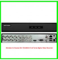Hikvision 16 Channel DS-7216HGHI-K1 4K Turbo Digital Video Recorder