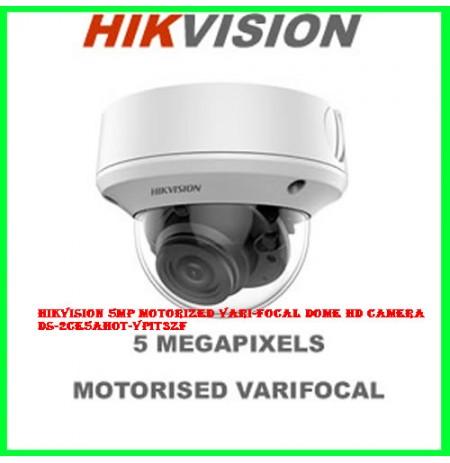 Hikvision 5MP Motorized Vari-focal Dome HD Camera DS-2CE5AH0T-VPIT3ZF