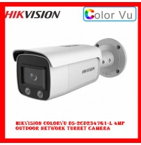Hikvision ColorVu DS-2CD2347G1-L 4MP Outdoor Network Turret Camera