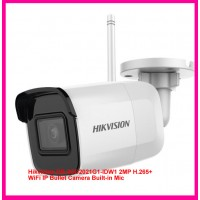 Hikvision DS-2CD2021G1-IDW1 2MP H.265+ WiFi IP Bullet Camera Built-in Mic