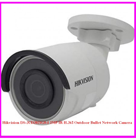 Hikvision DS-2CD2023G0-I 2MP IR H.265 Outdoor Bullet Network Camera