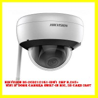 Hikvision DS-2CD2121G1-IDW1 2MP H.265+ WiFi IP Dome Camera Built-in Mic, SD Card Slot