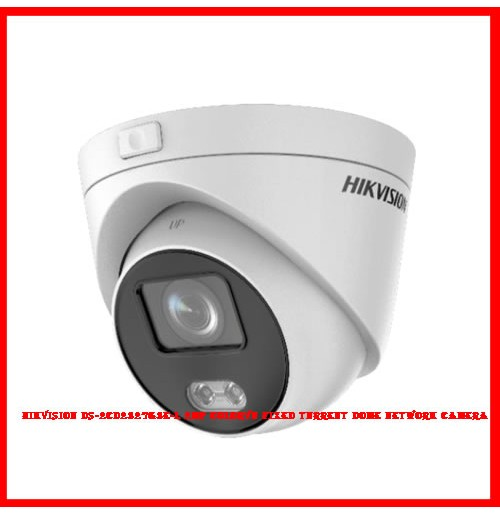 Hikvision DS-2CD2327G3E-L 2MP ColorVu Fixed Turrent Dome Network Camera